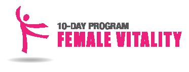 Female Vitality 10 Day Program Logo